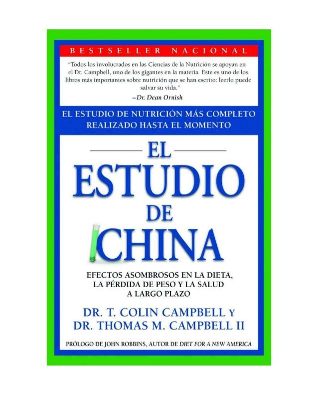 Estudio de China T Colin Campbell