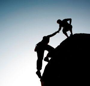 ayudar a subir